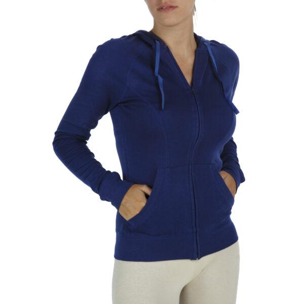 hooded long sleeve-sweatshirt-organic-pima-cotton slowfashion fairfashion