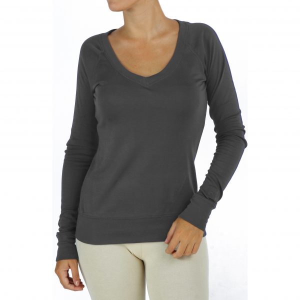 v-neck-long-sleeve-t-shirt-with raglant sleeve organic-pima-cotton