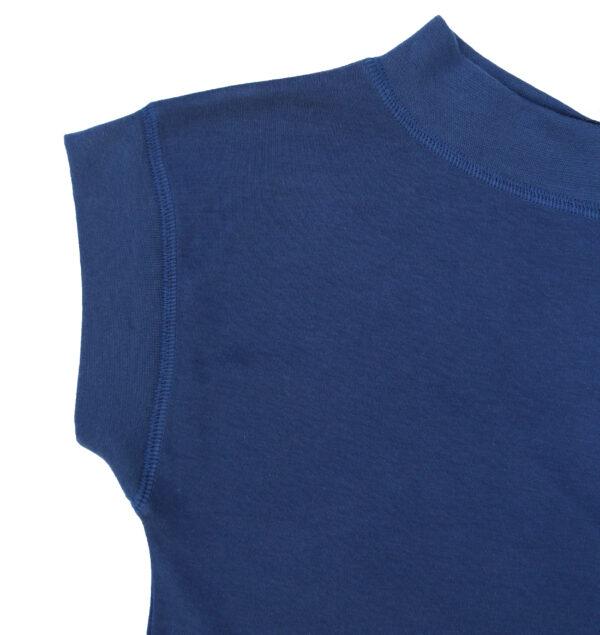 Short sleeve maxi blouse