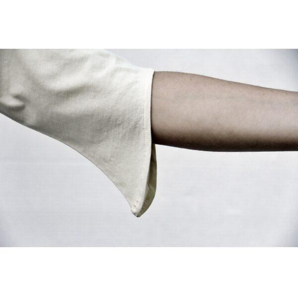 diagonal 3/4 sleeve top slowfashion