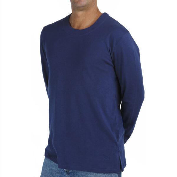 long-sleeve-crew-t-shirt-men-organic-pima-cotton slowfashion fairfashion quality