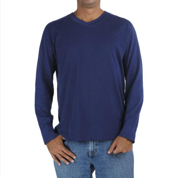 raglan-long-sleeve-v-neck-t-shirt-organic-pima-cotton slowfashion fairfashion quality