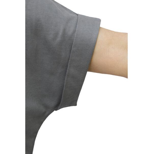 folded short sleeve one size tshirt