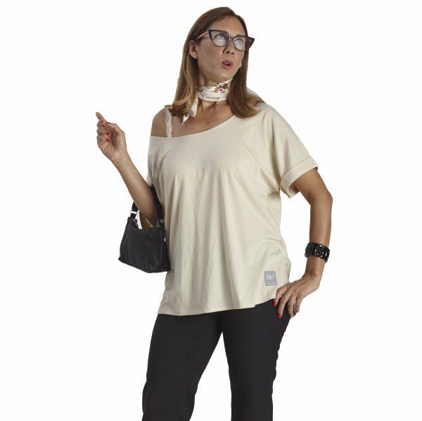 onesize short sleeve tshirt organic pima cotton