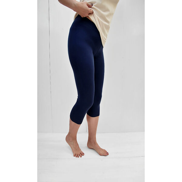 short capri leggins slowfashion organic pima cotton refined basics