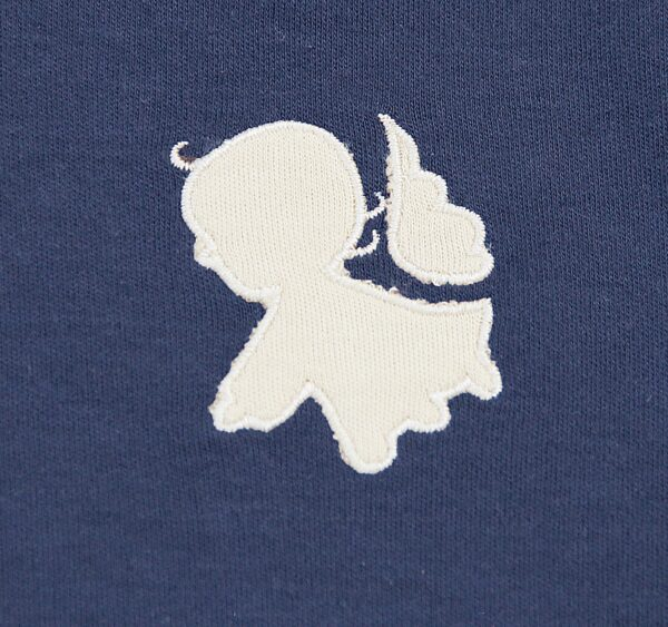 Newborn Baby Salopette Angel embroidery