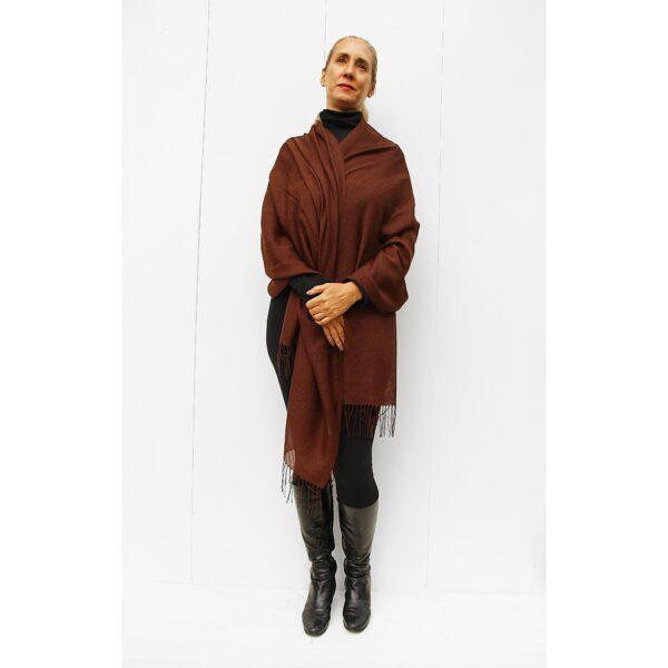 Stole finest alpaca & silk scarf