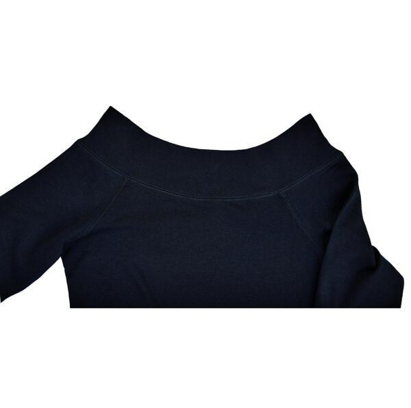 Off shoulder maxi top mini dress organic pima cotton slowfashion