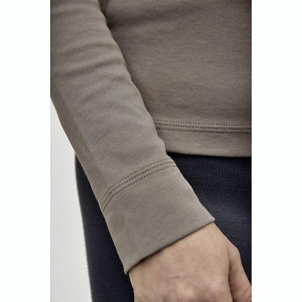 long sleeve top slowfashion refined basics