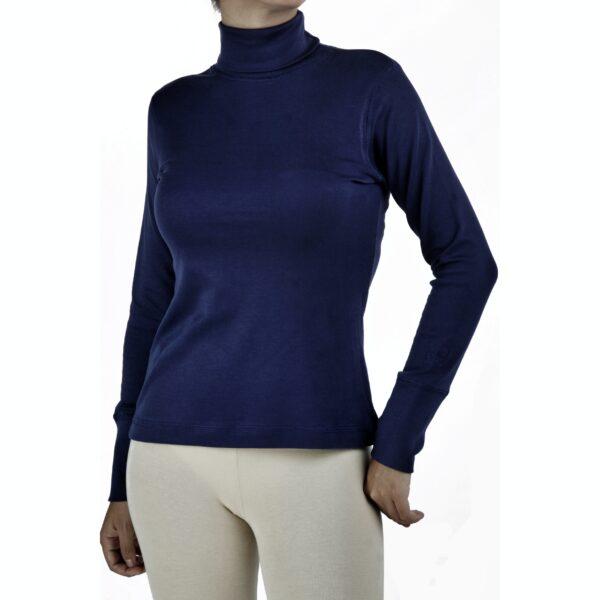 long-sleeve-turtle-neck-t-shirt in organic pima cotton slowfashion fairfashion refined basics