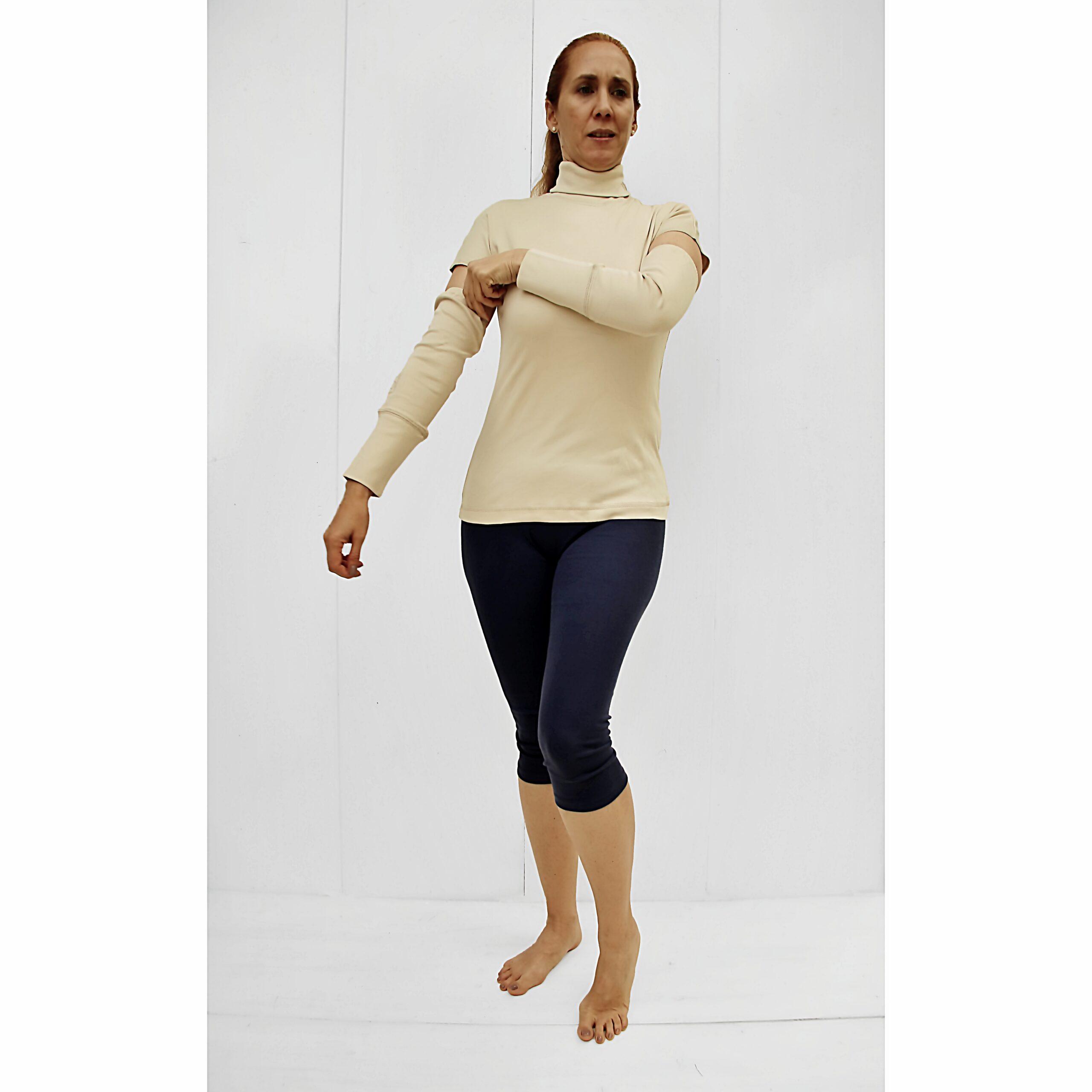 detached sleeves turtleneck slowfashion pima cotton organic