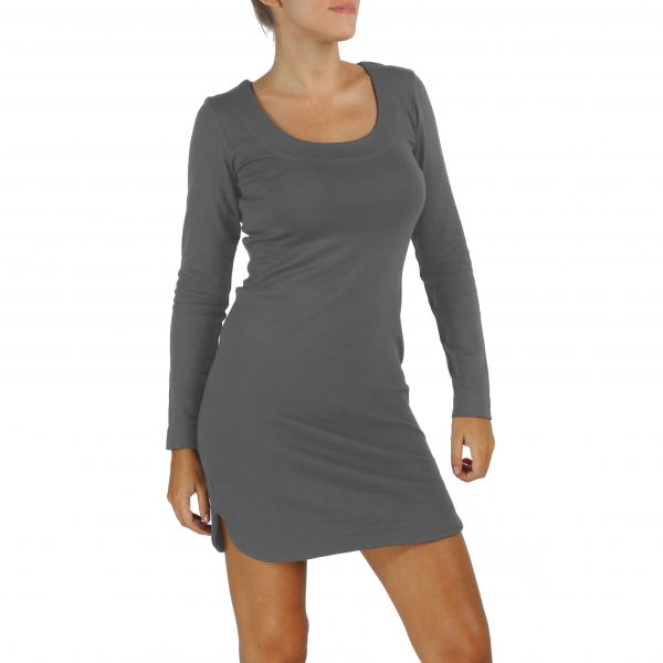 sheath dress organic pima cotton